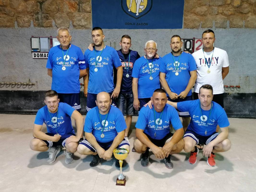 BK Zagon prvak 1.županijske lige