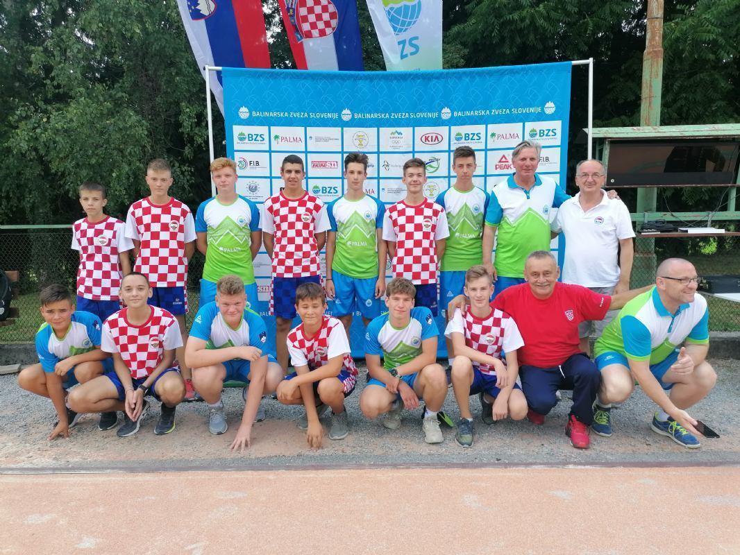 Prijateljski susret kadetskih reprezentacija Hrvatske i Slovenije