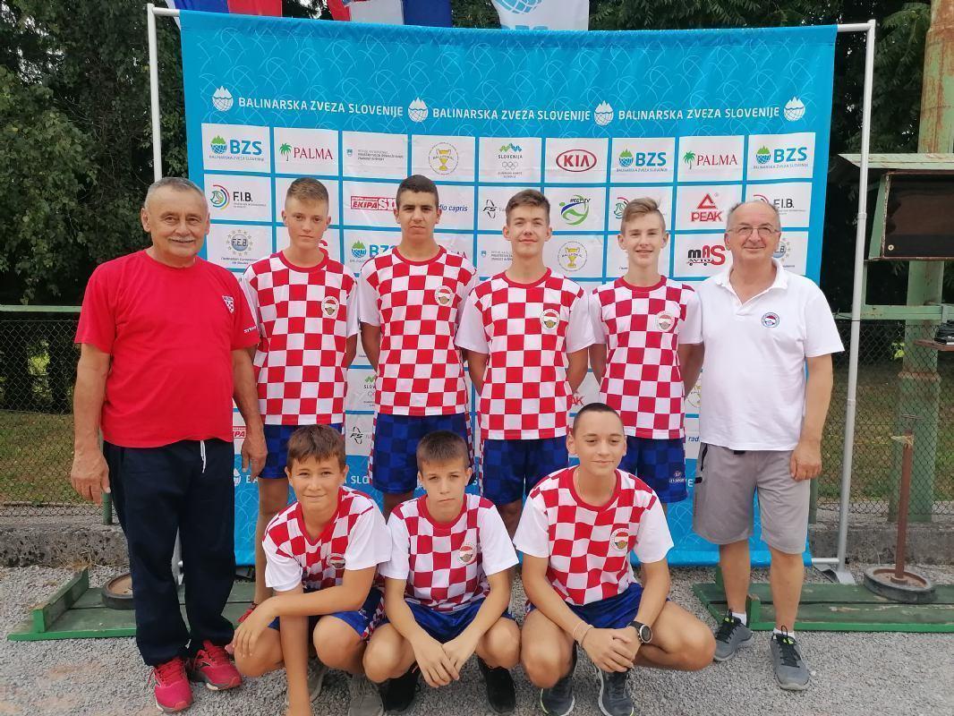 Ogled kadetskih boćarskih reprezentacija Hrvatske i Slovenije