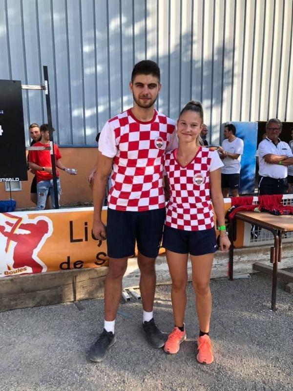 Hrvatski reprezentativci osvojili 2.mjesto u mix štafeti