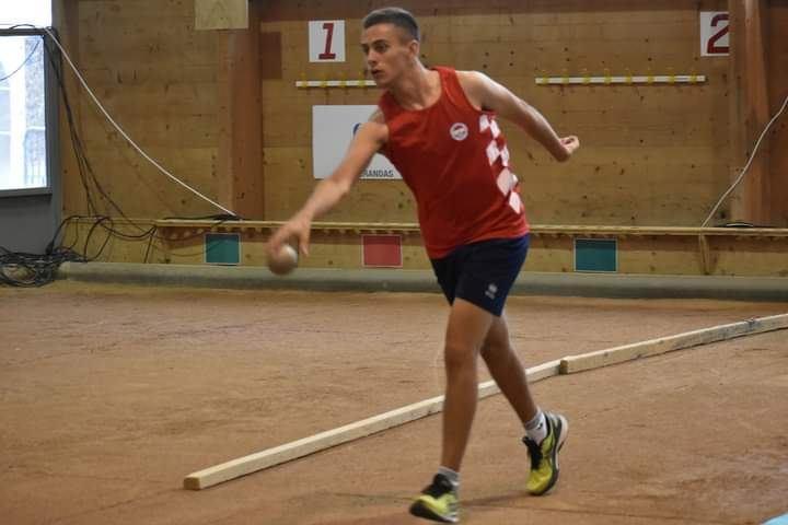 Hrvatski juniorski rekord FILIPA KLARIĆA