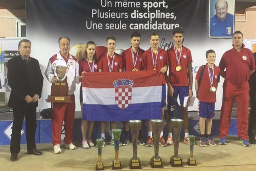 Hrvatska prva u Francuskoj