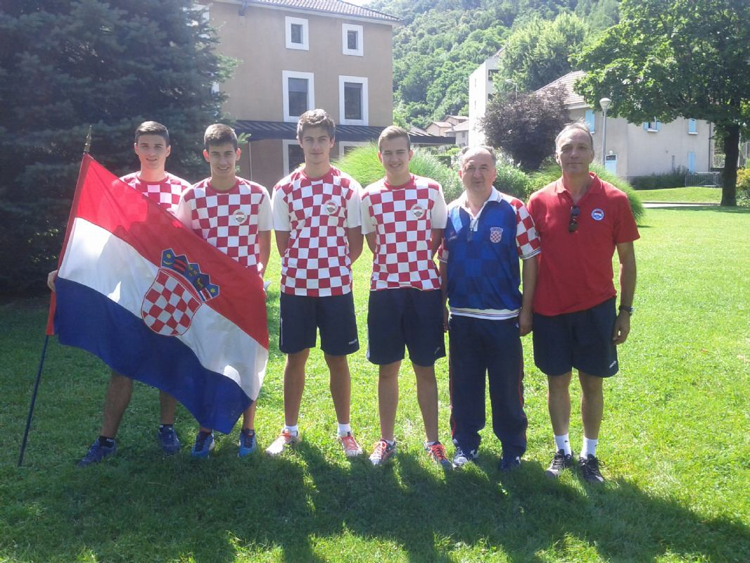 Hrvatski juniori prvi na turniru u Eybensu (Fr.)