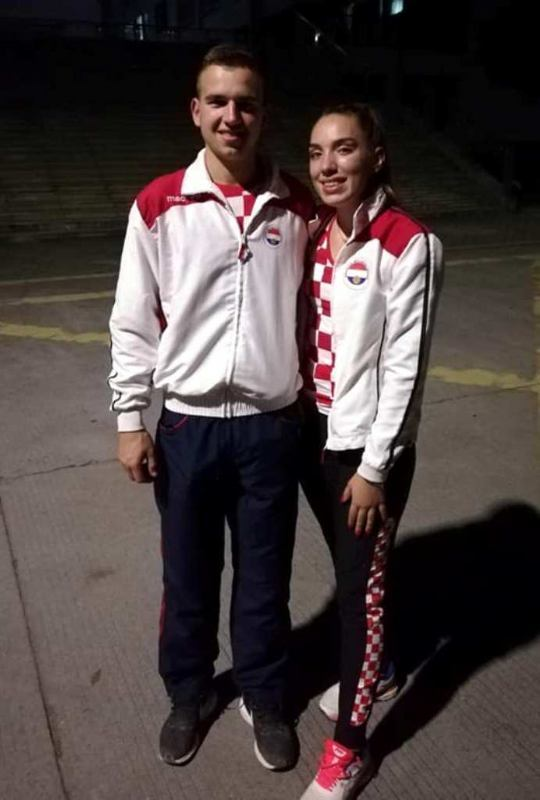 Mateo Načinović i Carrolina Bajrić prvi do medalje