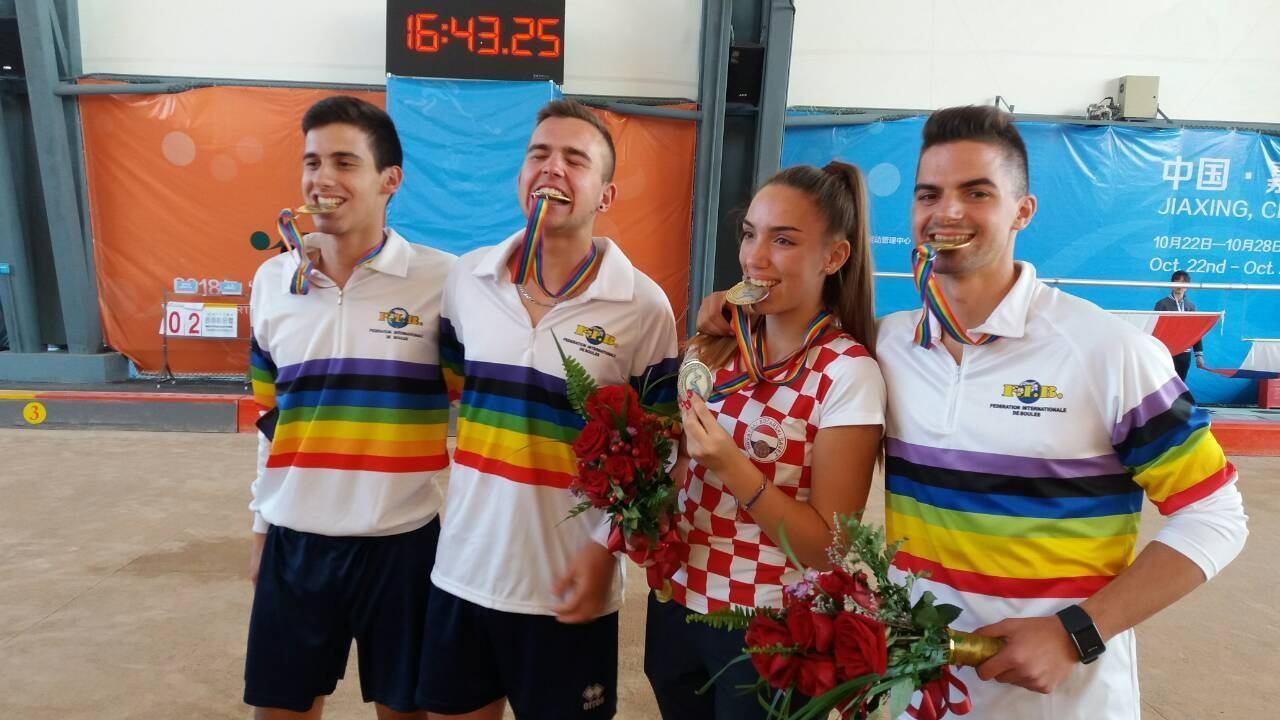 Zlatni K.Šaban, M.Ćubela i M.Načinović