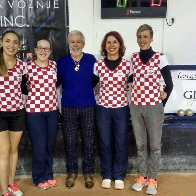 Hrvatska ženska reprezentacija osvojila 2.mjesto na SLO OPEN GDP 2018