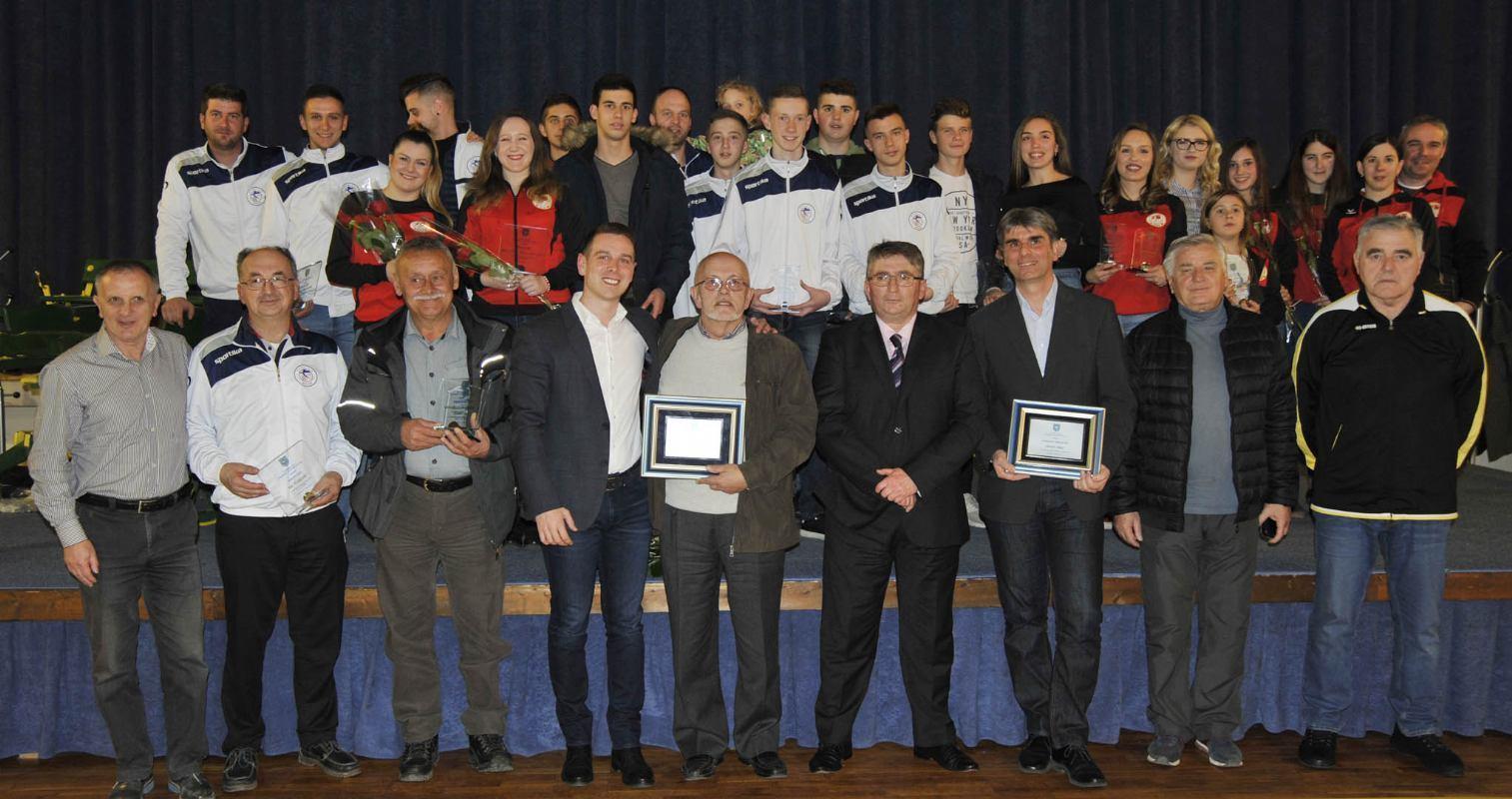 Laureati C.Bajrić, A.Prlaguzić, BK Čavle-ŠB i BK Vargon