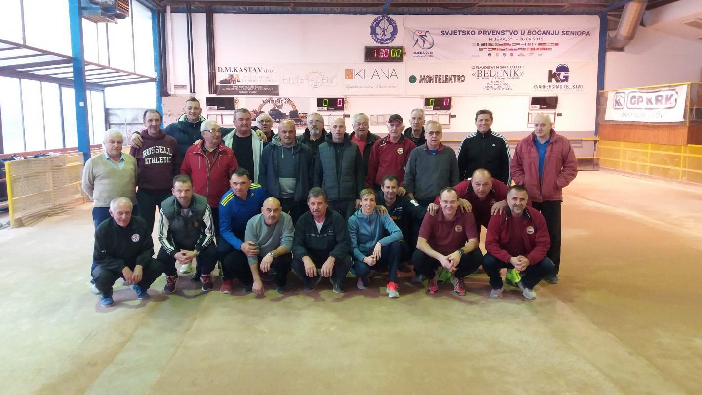Dalmati pobjednici zimske lige - Marinići