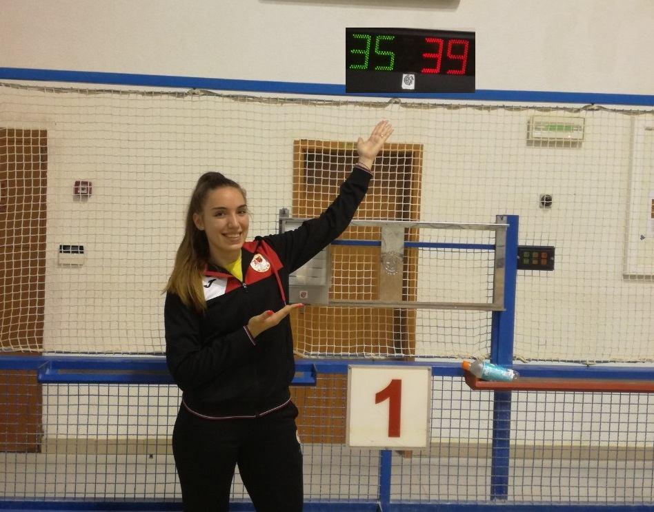 Novi državni rekord Carroline Bajrić