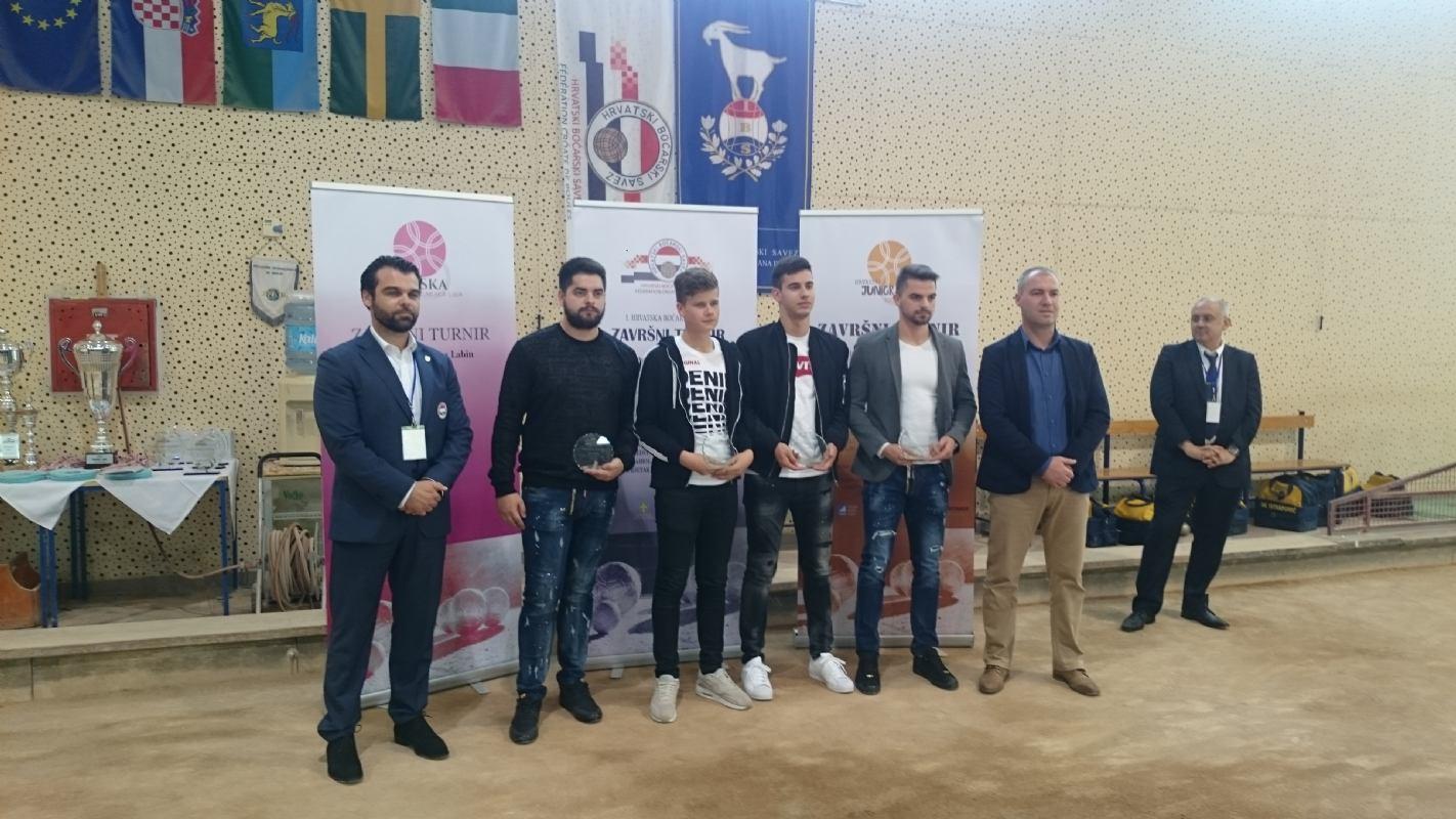 Dodjela priznanja najboljim boćarima Hrvatske za 2018.g.
