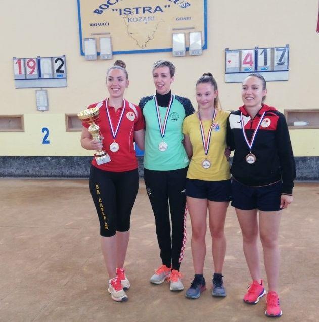 Jelovici N. dva naslova prvakinje države, Bajrić C. jedan