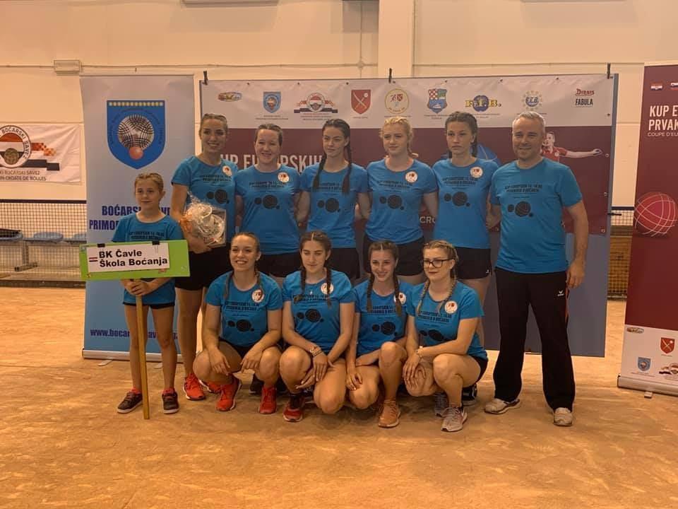 Čavle ŠB protiv St. Vulbas u četvrtfinalu