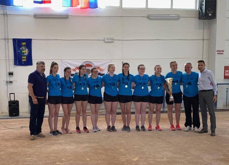 Boćarice Čavle ŠB osvojile 5.mjesto u Kupu europskih prvakinja