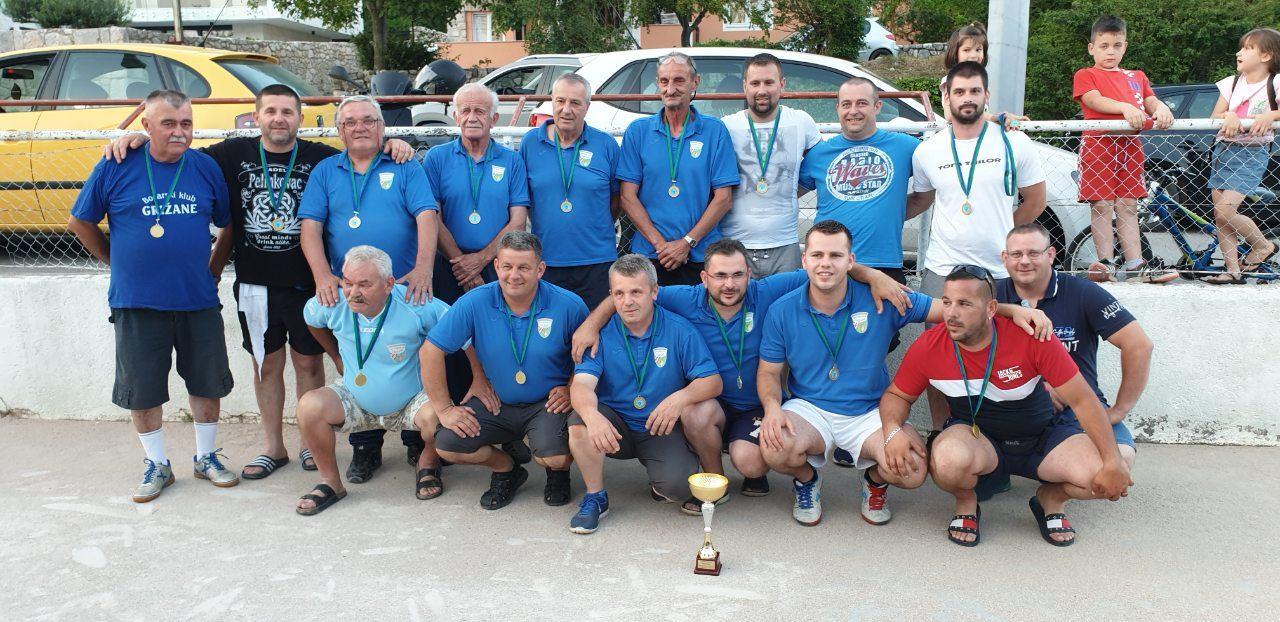 BK Grižane prvak Međuopćinske lige Istok