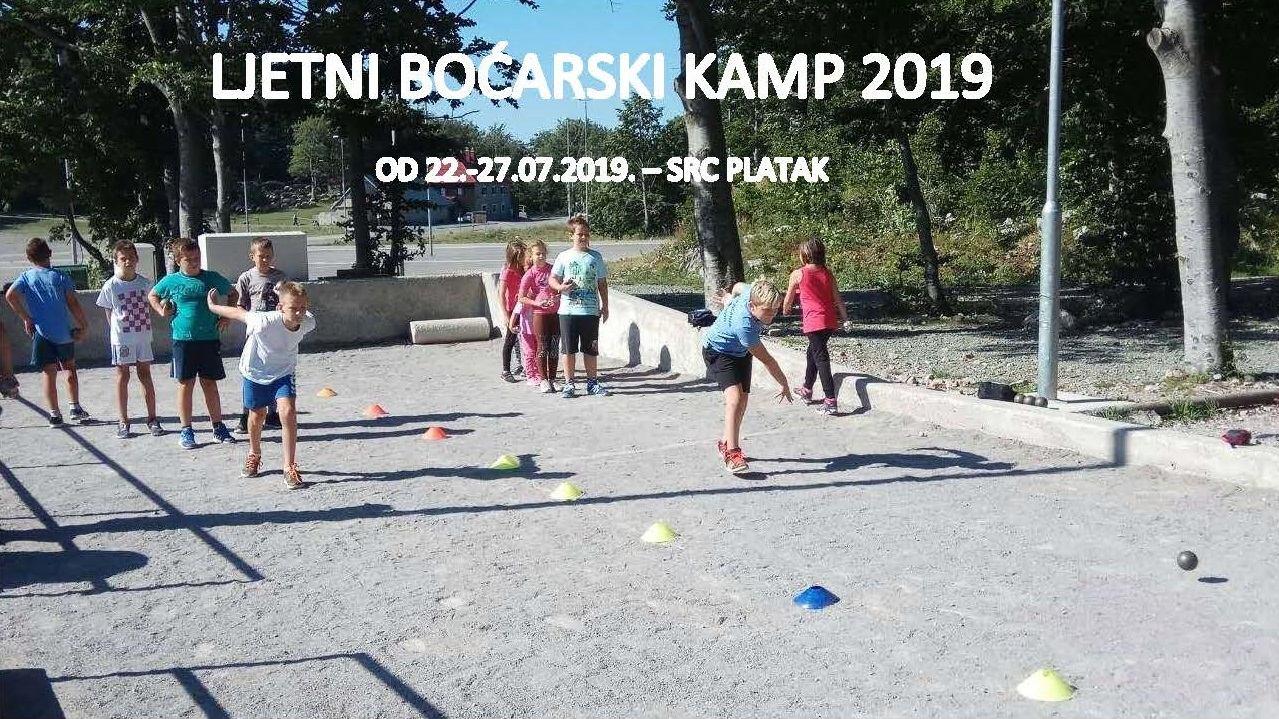 LJETNI BOĆARSKI KAMP 2019