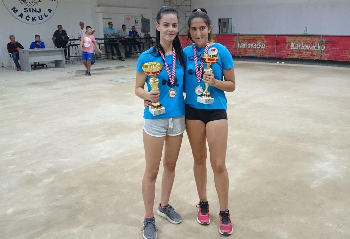 Juniorke Čavle ŠB osvojile ukupno 13 medalja na prvenstvu države - U18
