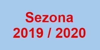 Raspored liga za sezonu 2019/2020