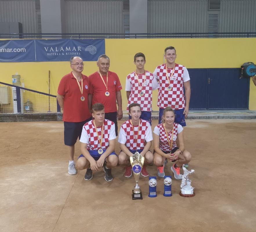 Juniorska reprezentacija Hrvatske osvojila 1.mjesto na Alpe-Adria turniru