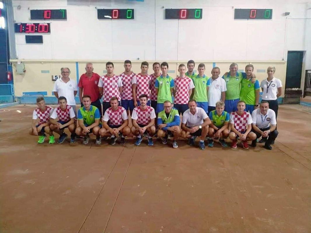 Prijateljski susret Hrvatske i Slovenske reprezentacije U18 i U23