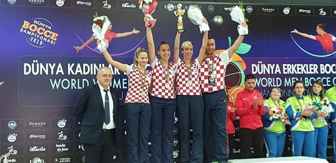 Hrvatskoj srebro na svjetskom kupu u Turskoj