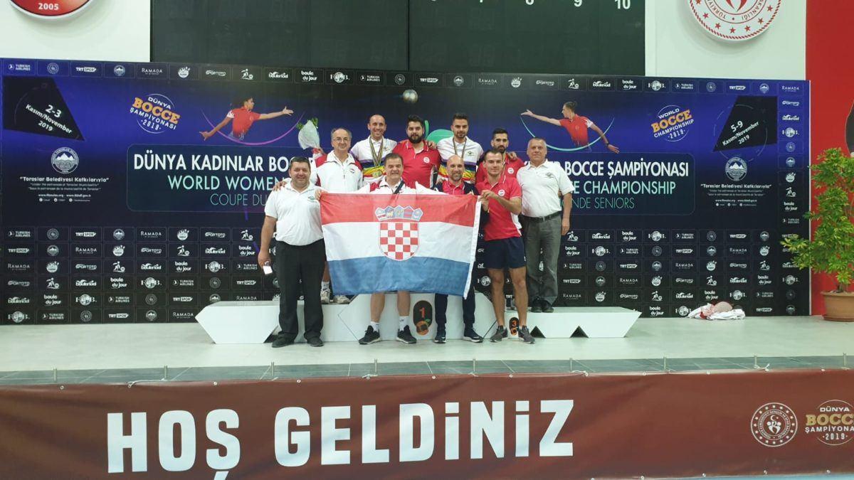 M.Ćubela i D.Živolić svjetski prvaci, D.Živolić i B.Kraljić brončani