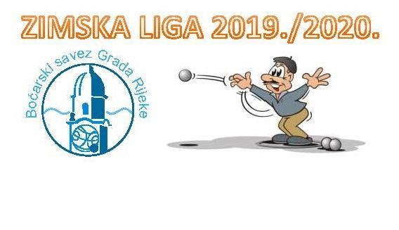 RASPORED po grupama -  Zimska liga Rijeka 2019/2020