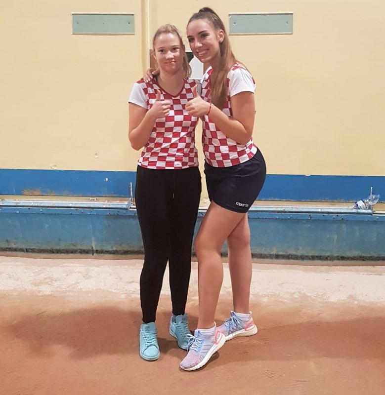 C.Bajrić i R.Vojković postigle novi hrvatski rekord u štafetnom izbijanju