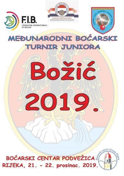 Međunarodni turnir juniora BOŽIĆ 2019