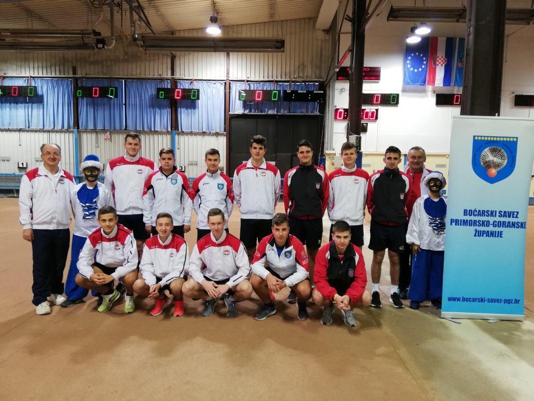 Hrvatska zauzela 2.mjesto na međunarodnom juniorskom turniru