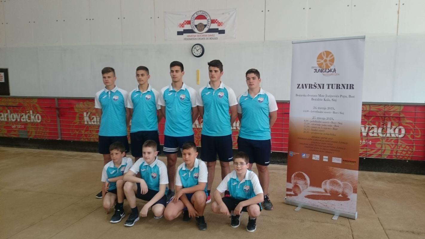 Hrvatska juniorska boćarska liga - završni turnir