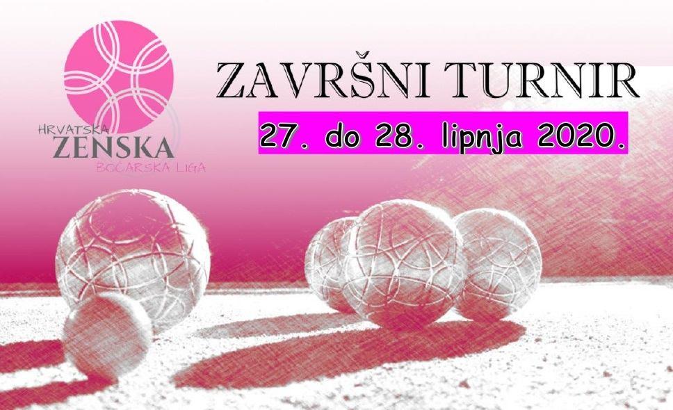 Završnica Hrvatske ženske boćarske lige