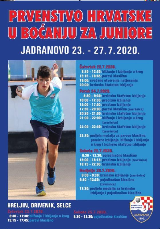 Prvenstvo Hrvatske za juniore