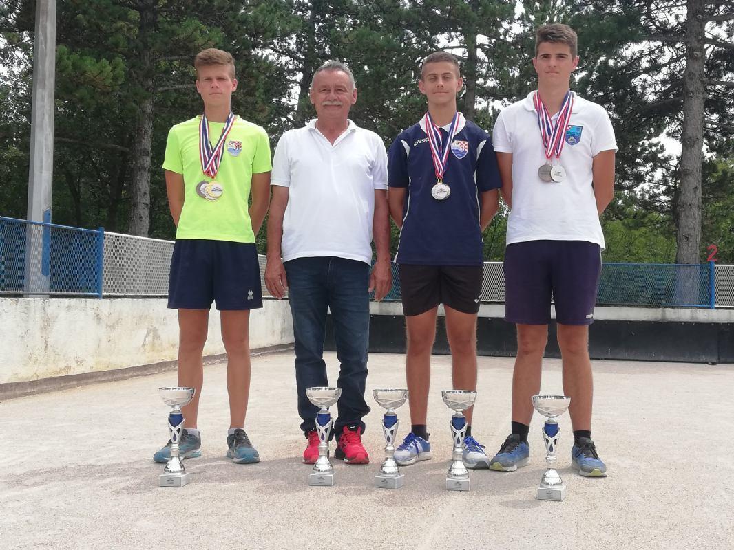 Pet titula prvaka države (U18) ostalo u našoj županiji