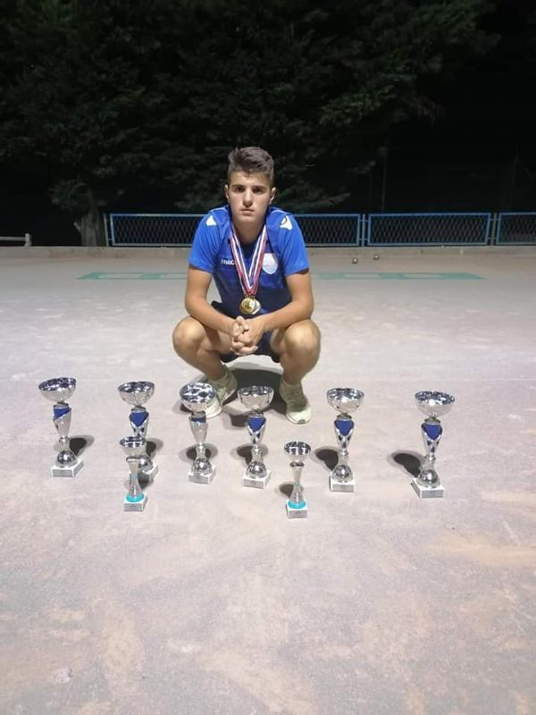Žarku Jerčinoviću svih 6 naslova prvaka države