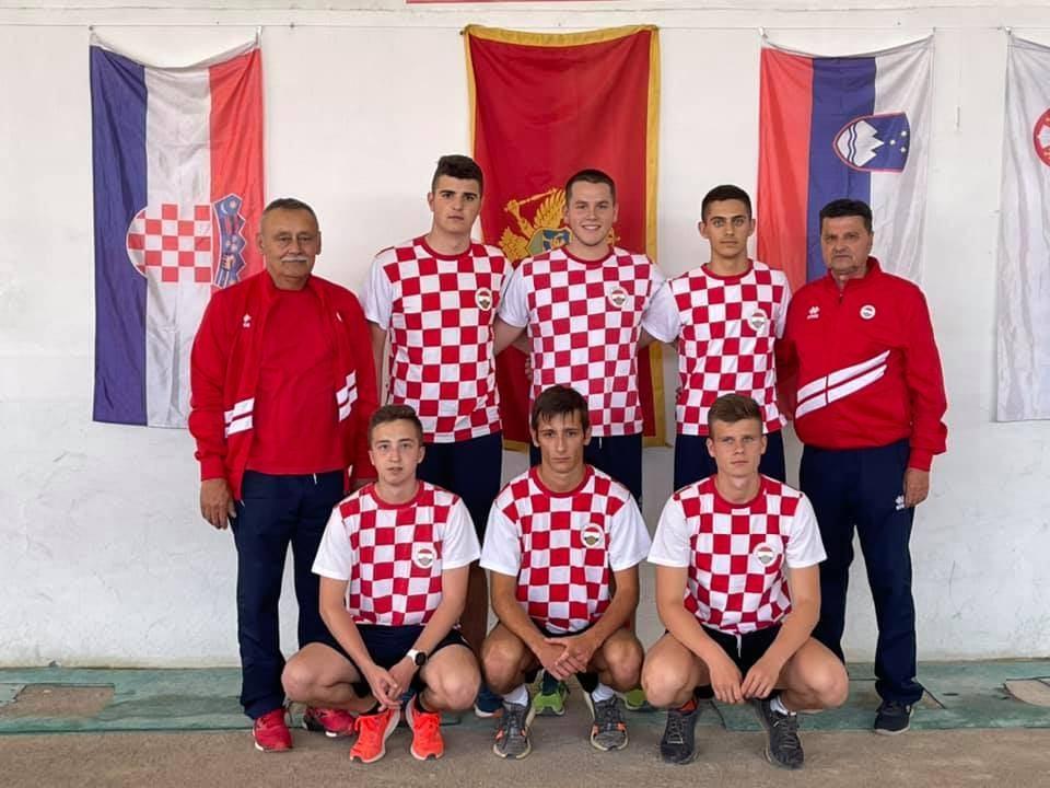 Hrvatska reprezentacija U-20 osvojila 3.mjesto na ABC petoboju